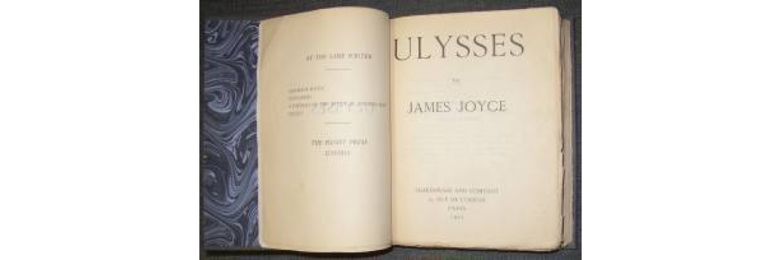 Joyce, James. Ulysses. Paris. 1925.