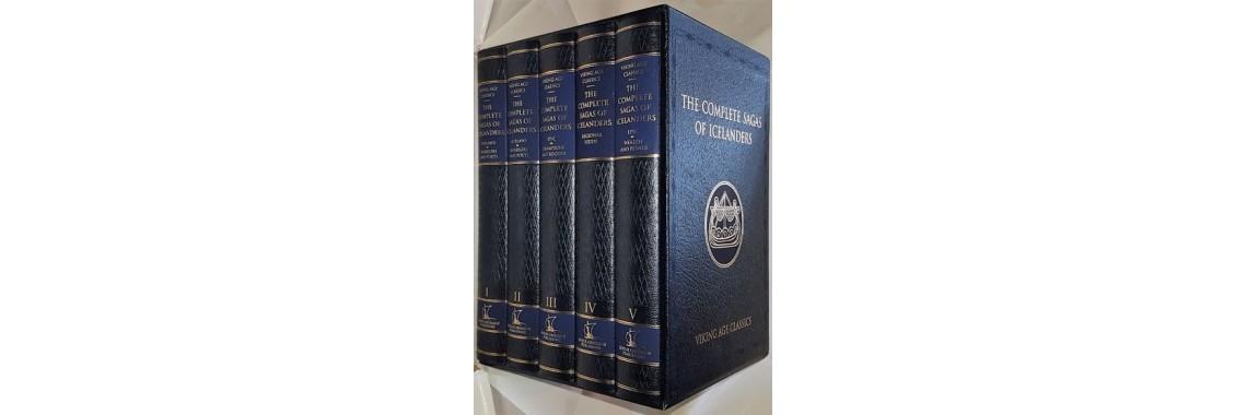 Hreinsson, Vidar (editor). The Complete Sagas Of Icelanders